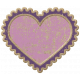 The Good Life April Elements Kit- Chipboard Heart