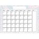The Good Life April Calendar 5x7 Blank