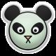The Good Life- May Elements- Puffy Panda Sticker Mint