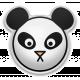 The Good Life- May Elements- Puffy Panda Sticker