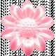 Flower Power Elements Kit- Flower Button Pink