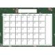The Good Life: December Calendars- Calendar 5x7 Blank