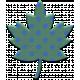 The Good Life- November Elements- Chipboard Leaf Green