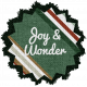 The Good Life- December Elements- Burlap Joy And Wonder