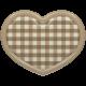 The Good Life - December Elements - Flair Heart 1