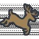 The Good Life- December Elements- Sticker Reindeer 2