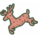 The Good Life- December Elements- Sticker Reindeer 1