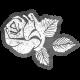 SciFi Sticker Rose 7