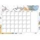 Scifi Calendars- January Calendar 3 A4