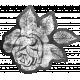 SciFi Elements- Sticker Rose 7