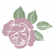 SciFi Elements- Sticker Rose 3
