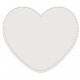 Shaker Pockets Kit- Sequins- Heart