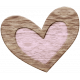 The Good Life: February Elements- Wooden Heart 1