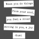 The Good Life: February Words & Tags- River Of Joy Word Strip