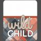 Wild Child Words & Tags- Word Art Tag Wild Child