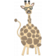 Wild Child Elements- Felt Giraffe