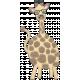 Wild Child Elements- Felt Giraffe