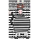 Wild Child Elements- Felt Zebra
