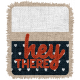 Wild Child Elements- Word Art Tag Textured Hey There