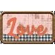 Wild Child Elements- Word Art Tag Textured Love