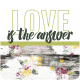 The Good Life: February Words And Tags- Word Art Tag love is the answer