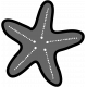 The Good Life: March Beach Add-On- Starfish Stamp