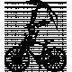 Umbrella Weather Vintage Stamps- Bike Umbrella Stamp