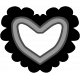 Templates Grab Bag Kit # 21- Heart 1 Template