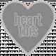Templates Grab Bag Kit # 21- Heart 2 Text Template