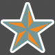 Umbrella Weather- Elements- Sticker Star 03