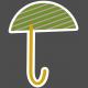 Umbrella Weather- Elements- Sticker Umbrella 02