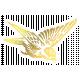 About Last Night Elements Kit- Gold Bird Sticker
