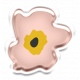 The Good Life- March 2019 Elements- Flower Sticker 1
