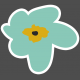 The Good Life- March 2019 Elements- Sticker Flower 1