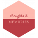 Spring Day Words & Tags- Thoughts & Memories