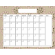 Spring Cleaning Calendars- Calendar 1 8.5x11