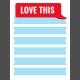 Journal Card Templates Kit #2- Q 3x4