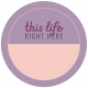 The Good Life: September 2019 Words & Labels Kit- label this life right here