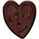 The Good Life- September 2019 Elements- Wood Heart