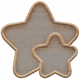 Templates Grab Bag Kit #23: wood stars template