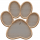 Templates Grab Bag Kit #23: wood paw template