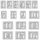 Alpha Template Kit #39: Alpha 39 Template Numbers 1-16