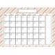 The Good Life- October 2019 Calendars- Calendar 2 5x7 Blank