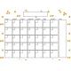 The Good Life- October 2019 Calendars- Calendar 3 5x7 Blank