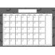 The Good Life- October 2019 Calendars- Calendar 4 5x7 Blank