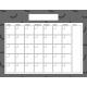 The Good Life- October 2019 Calendars- Calendar 4 8.5x11 Blank