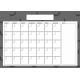 The Good Life- October 2019 Calendars- Calendar 4 A4 Blank