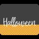 October 31 Words & Labels Kit: label label halloween 3