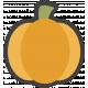 October 31 Words & Labels Kit: sticker pumpkin