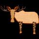The Good Life- November 2019 Elements- Wood Moose